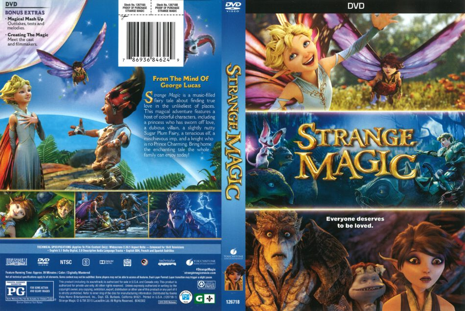 strange magic deutsch