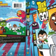 Teen Titans Go! Season 3 Part 1: Eat. Dance. Punch! (2015) R1 DVD Cover