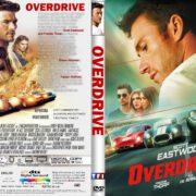Overdrive (2017) R2 CUSTOM DVD Cover & Label