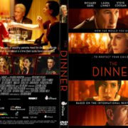 The Dinner (2017) R1 CUSTOM DVD Cover & Label