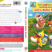 WordWorld Building Readers: Let's Make Music! (2017) R1 DVD Cover