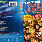 Young Justice Triple Pack: Season 1 Volume 1-3 (2012) R1 DVD Cover