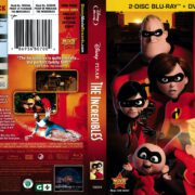 The Incredibles (2011) R1 Blu-Ray Cover