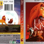 The Lion King (2017) R1 Blu-Ray Cover