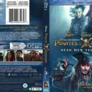 Pirates of the Caribbean: Dead Men Tell No Tales (2017) R1 Blu-Ray Cover