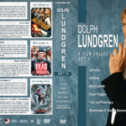 Dolph Lundgren Film Collection – Set 9 (2017) R1 Custom DVD Covers