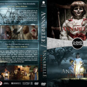 Annabelle Double Feature (2014-2017) R1 Custom DVD Cover