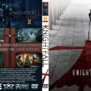Knightfall: season 1 (2017) R0 Custom DVD Covers