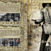 3:10 to Yuma Double Feature (1957-2007) R1 Custom Blu-Ray Cover