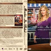Murder, She Baked Collection (2015-2017) R1 Custom DVD Cover & Label