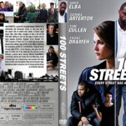 100 Streets (2016) R1 CUSTOM DVD Cover & Label