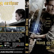 King Arthur: Legend Of The Sword (2017) R2 CUSTOM DVD Cover & Label