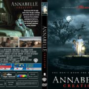 Annabelle Creation (2017) R1 CUSTOM DVD Cover & Label