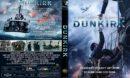 Dunkirk (2017) R2 CUSTOM DVD Cover & Label