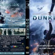 Dunkirk (2017) R2 CUSTOM DVD Cover & Label