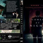 It Comes At Night (2017) R1 CUSTOM DVD Cover & Label
