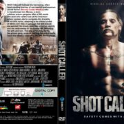 Shot Caller (2017) R1 CUSTOM DVD Cover & Label
