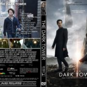 The Dark Tower (2017) R1 CUSTOM DVD Cover & Label
