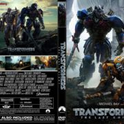 Transformers: The Last Knight (2017) R2 DUTCH CUSTOM DVD Cover & Label