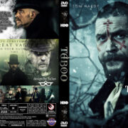 Taboo (2017) R0 Custom DVD Covers