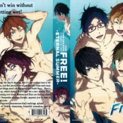 Free! Season 2: Eternal Summer (2014) R1 Custom DVD Cover
