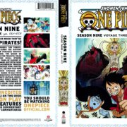 One Piece: Season 9 Voyage 3 (1999) R1 DVD Covers