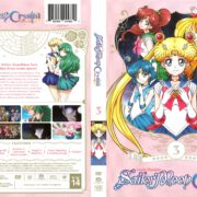 Sailor Moon Crystal Season 3 (2017) R1 DVD Cover