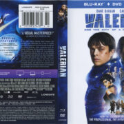 Valerian And The City Of A Thousand Planets (2017) R1 Blu-Ray Cover & Labels