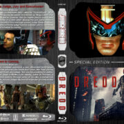 Judge Dredd / Dredd Double Feature (1995-2012) R1 Custom Blu-Ray Cover