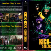 Kick-Ass Collection (2010-2013) R1 Custom Blu-Ray Cover