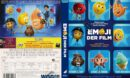 Emoji der Film (2017) R2 GERMAN Custom DVD Cover