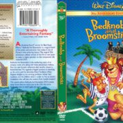 Bedknobs and Broomsticks (1971) R1 DVD Cover