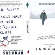 The Snowman (2017) R0 CUSTOM DVD Cover & Label