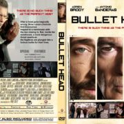 Bullet Head (2017) R1 CUSTOM DVD Cover & Label