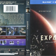 The Expanse: Season 1 (2016) R1 Blu-Ray Cover & Labels