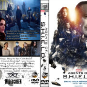 Marvel's Agents of Shield (2016) R0 Custom DVD Cover