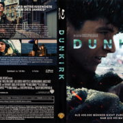 DUNKIRK (2017) (2017) R2 German Blu-Ray Cover & Label