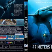 47 Meters Down (2017) R1 CUSTOM DVD Cover & Label