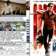 American Made (2017) R1 CUSTOM DVD Cover & Label