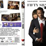 Fifty Shades Of Black (2016) DUTCH R1 CUSTOM DVD Cover & Label