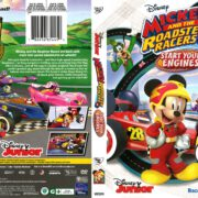 Mickey and the Roadster Racers: Start Your Engines (2017) R1 DVD Cover