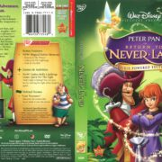 Peter Pan in Return to Neverland (2007) R1 DVD Cover