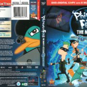 Phineas and Ferb: Across the 2nd Dimension (2011) R1 DVD Cover