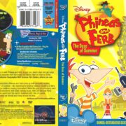 Phineas and Ferb: The Daze of Summer (2009) R1 DVD Cover