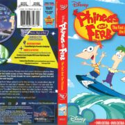 Phineas and Ferb: The Fast and the Phineas (2008) R1 DVD Cover