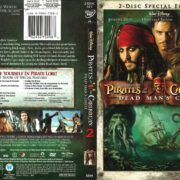 Pirates of the Caribbean: Dead Man's Chest (2006) R1 DVD Cover