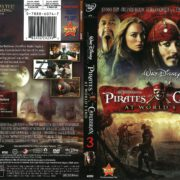 Pirates of the Caribbean: At World's End (2007) R1 DVD Cover