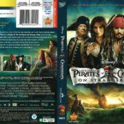 Pirates of the Caribbean: On Stranger Tides (2011) R1 DVD Cover