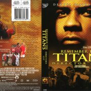 Remember the Titans: Director's Cut (2006) R1 DVD Cover