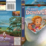 The Rescuers Down Under (1990) R1 DVD Cover